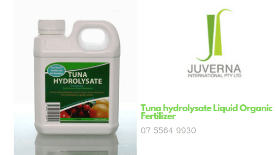 Tuna hydrolysate Liquid Organic Fertilizer